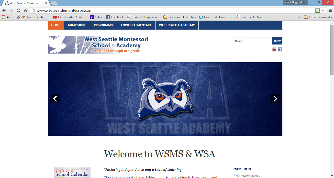WSMS Website Administrator