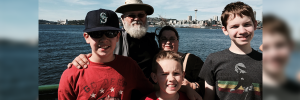 Jose, Teresa, Ben, Caleb, Timmy, Guadamuz visit Seattle