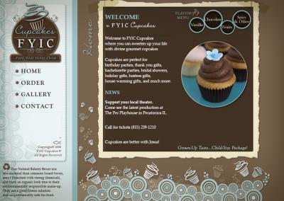 FYIC Cupcakes Website